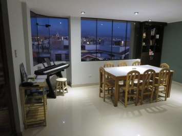 Picture of our living room / dining room
