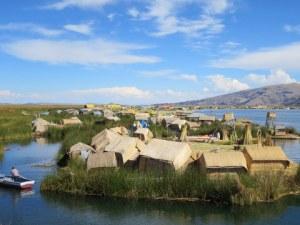 Los Uros in Lake Titicaca