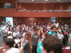 Closing fun and games at GBG Lima