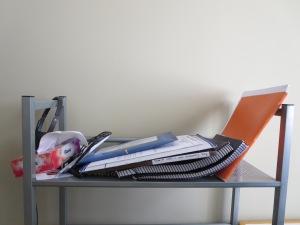 Photo of books fallen over